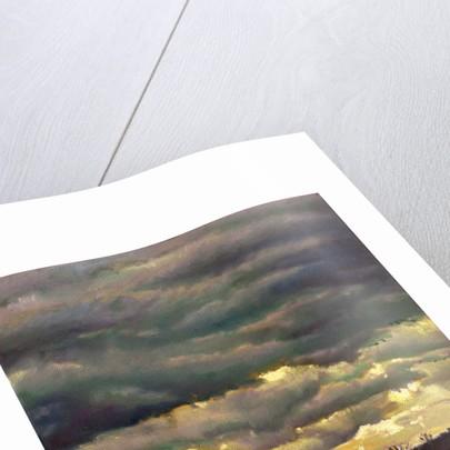 Cloud burst by Helen White