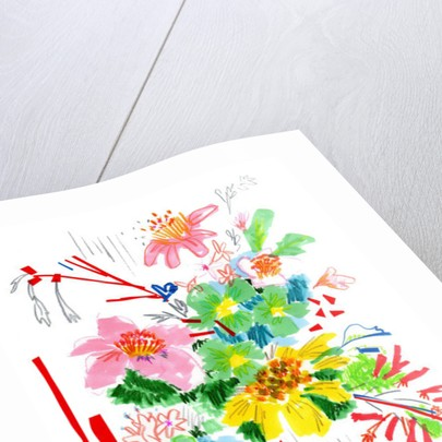 Floral Sketch 2 by Jo Chambers