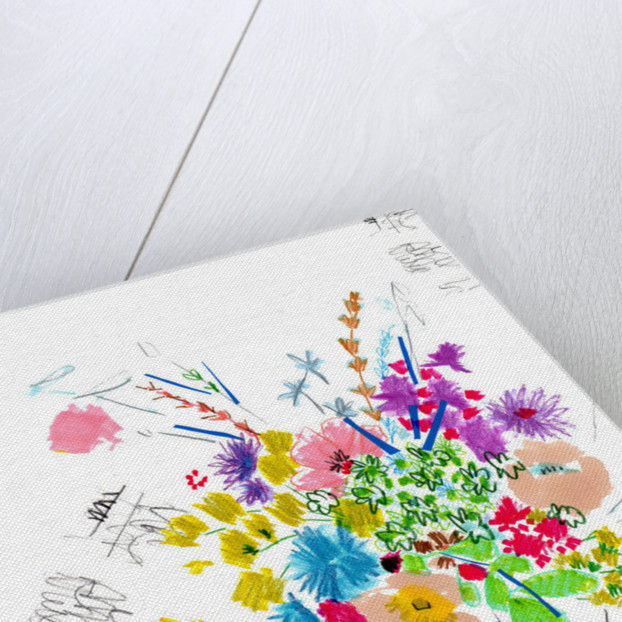 Floral Sketch by Jo Chambers