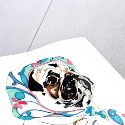 Pug In Pucci by Jo Chambers