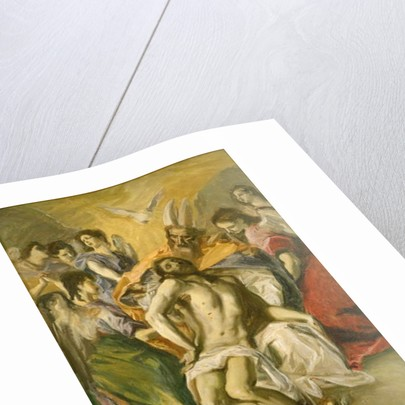 The Descent from the Cross, after El Greco by John Singer Sargent
