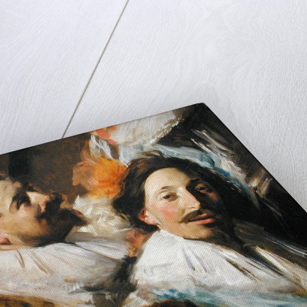 Two Heads from the Banquet of the Officers, 1880 by John Singer Sargent
