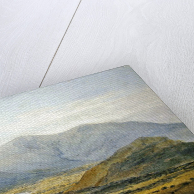 Skiddaw from the Newlands Valley, Bassenthwaite Lake in the distance by Joseph Mallord William Turner