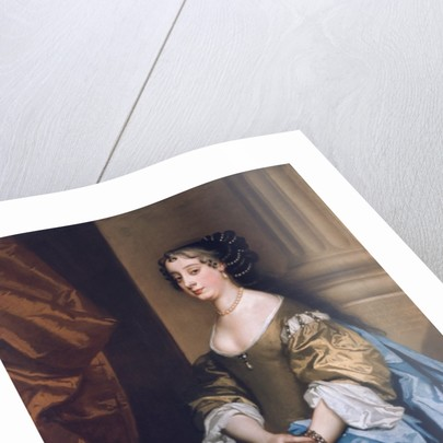 Portrait of Barbara Villiers by Peter Lely