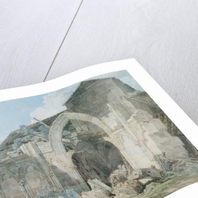 Glastonbury Abbey by Joseph Mallord William Turner
