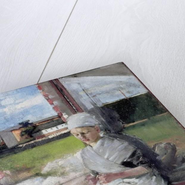 Breton Girl, 1889 by Olga Boznanska