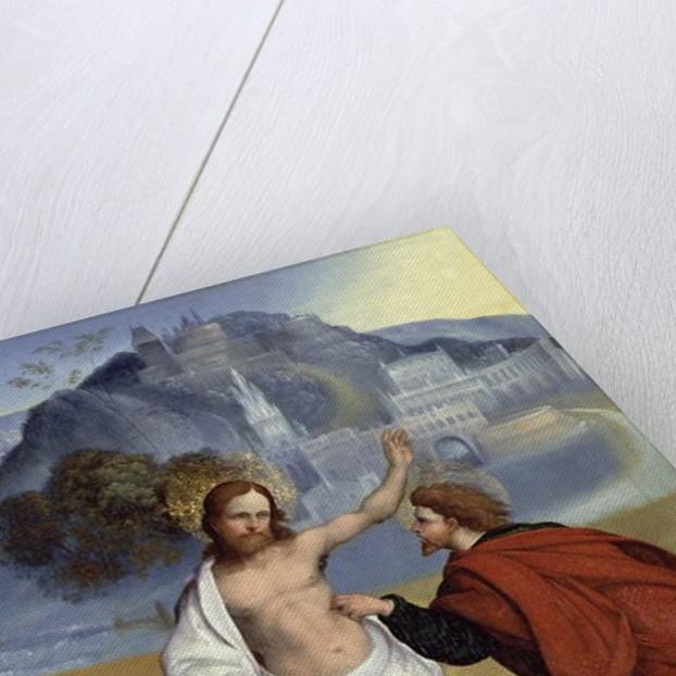 Doubting Thomas by Lodovico Mazzolino