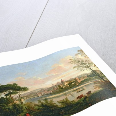 View of Florence from the Cascine by Gaspar van Wittel