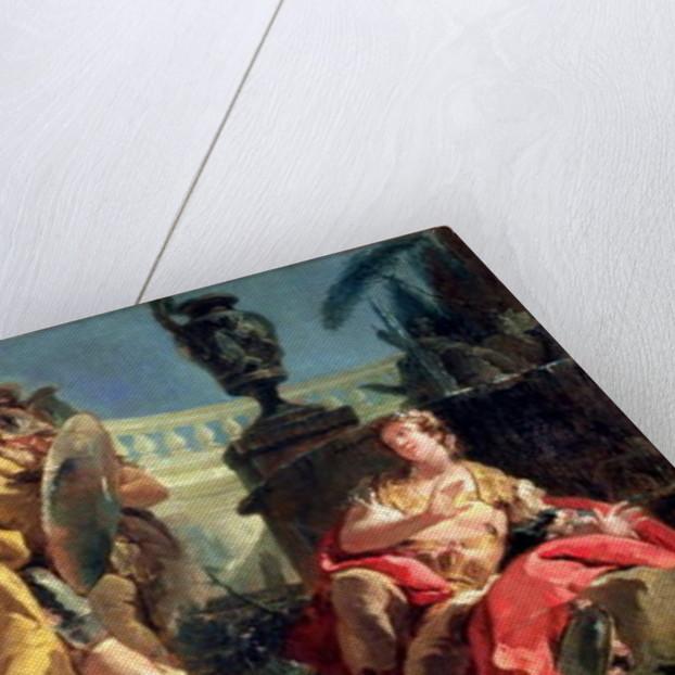 Rinaldo observed by Carlo and Ubaldo by Giovanni Battista Tiepolo