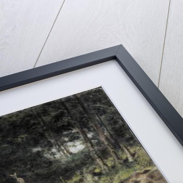 Chapel in the Woods by Carl Spitzweg