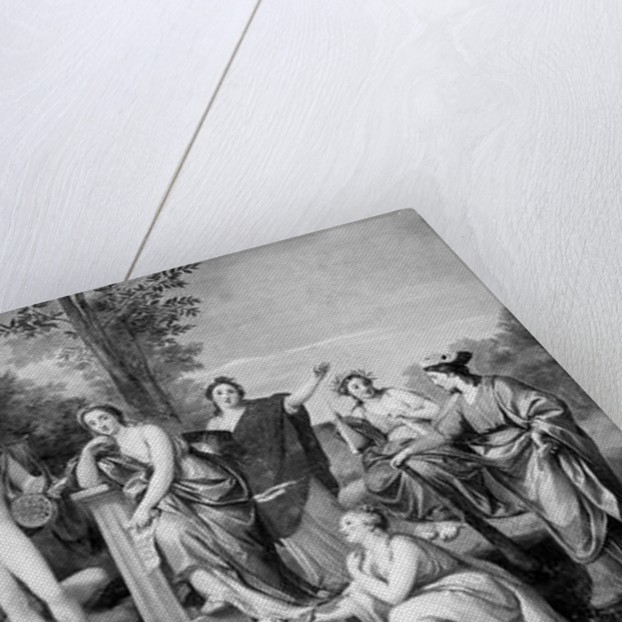Parnassus, 1761 by Anton Raphael Mengs