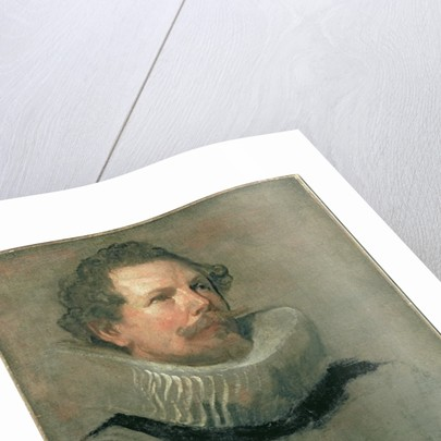 Portrait of a Man Wearing a Millstone Collar, 17th century by Anthony van Dyck