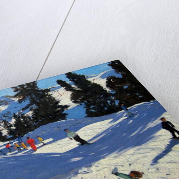Blue Sledge, Belle Plagne by Andrew Macara