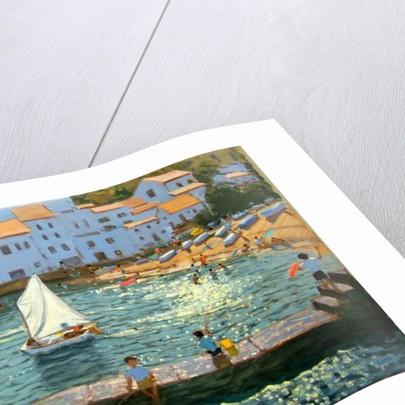 Sailboats, Cadaques, Costa Brava, 2013 by Andrew Macara