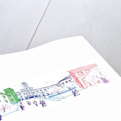 University campus, 2014 by Tomoko FURUYA