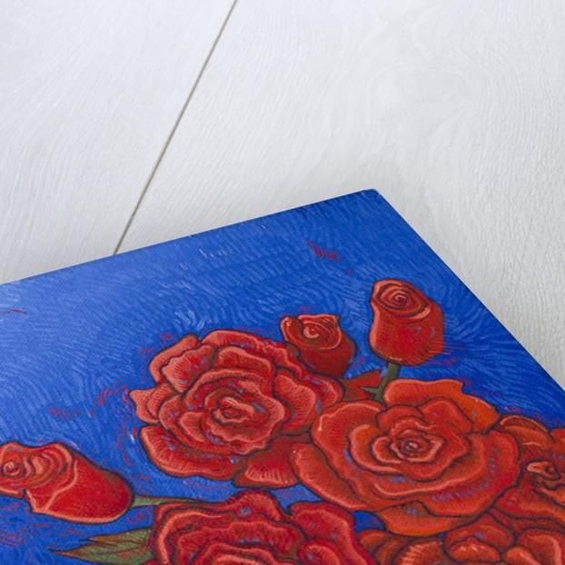 Vase of Roses 2, 2017 by Faisal Khouja