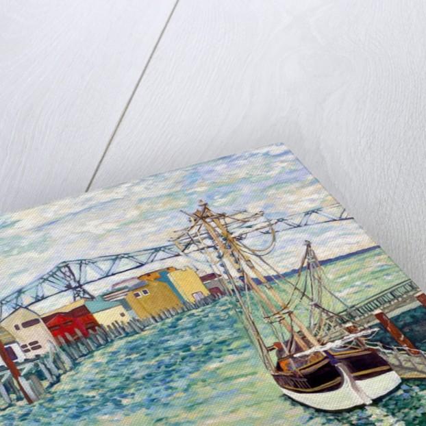 Astoria Boat, 2018 by Deborah Eve Alastra