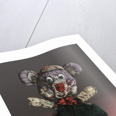 Mr Cuddly, 2018 by Peter Jones