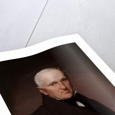 Self Portrait Wearing Glasses, c.1838 by Cephas Thompson