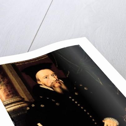 Portrait of William Cecil, 1st Baron Burghley Lord High Treasurer by Arnold von Brounckhorst
