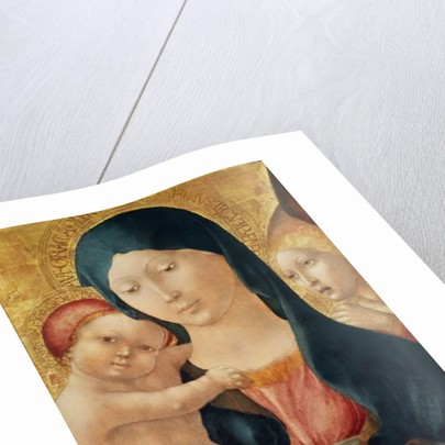 Virgin and Child with an Angel by Liberale da Verona