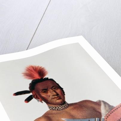 Moa-Na-Hon-Ga or 'Great Walker', an Iowa Chief by Charles Bird King