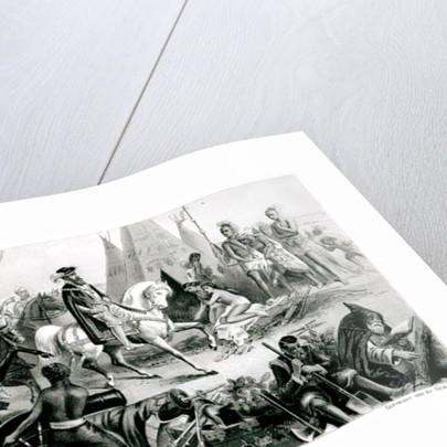 A Bosjesman Family, frontispiece from 'The History of Mankind', Vol.1, by Prof. Friedrich Ratzel by American School