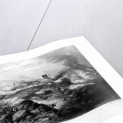 The Battle of Chapultepe by Hammatt Billings