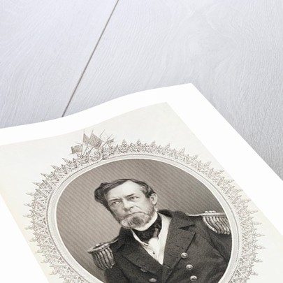 Commodore Andrew Hull Foote by engraved by G. Stodart from a photograph
