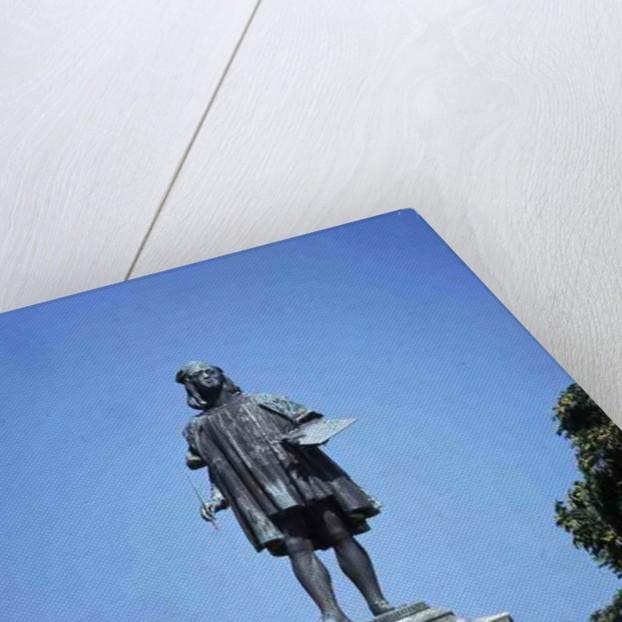 Statue of Raphael Sanzio of Urbino by Luigi Belli