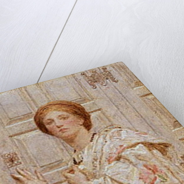 An Embroidery by Albert Joseph Moore