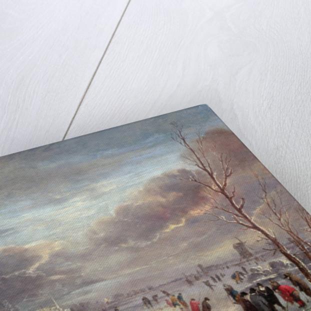 Landscape in Winter by Aert van der Neer