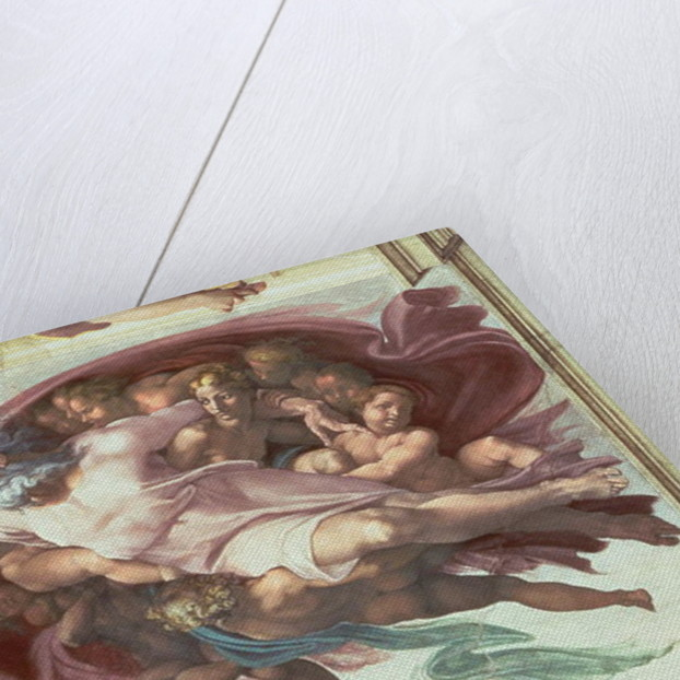 Sistine Chapel Ceiling: The Creation of Adam by Michelangelo Buonarroti