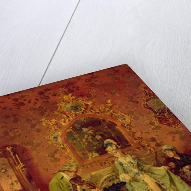 The Fiddler by L. Alvarez