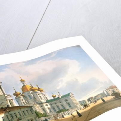 The Virgin of Vladimir Church in St. Petersburg by Ferdinand Victor Perrot