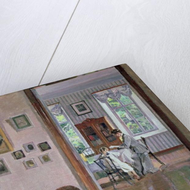 Interior by Sergei Arsenevich Vinogradov
