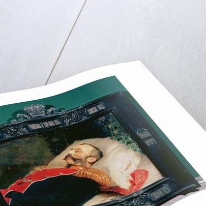 Emperor Alexander II on His Deathbed by Konstantin Egorovich Makovsky
