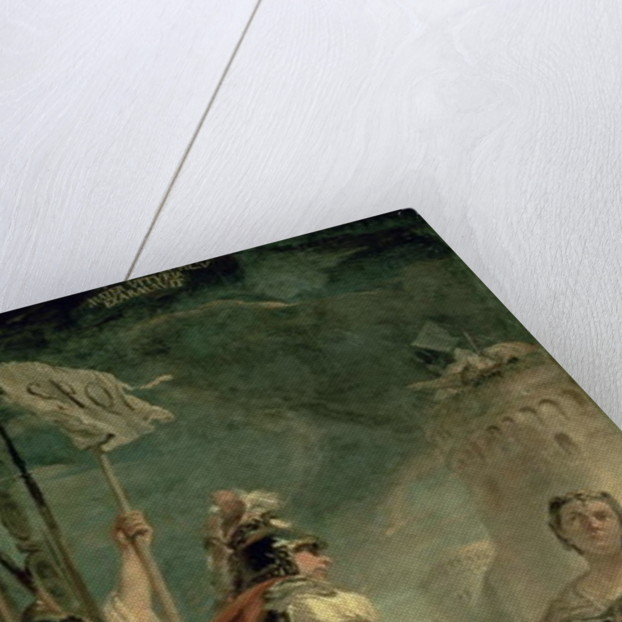 Coriolanus in the Environs of Rome by Giovanni Battista Tiepolo