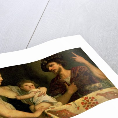Eumenes and Roxana by Alessandro Padovanino