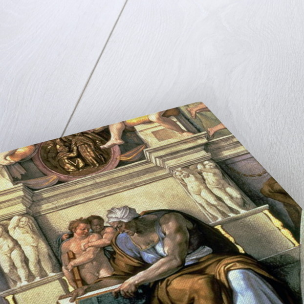 Sistine Chapel Ceiling: Cumaean Sibyl, 1510 (post restoration) by Michelangelo Buonarroti