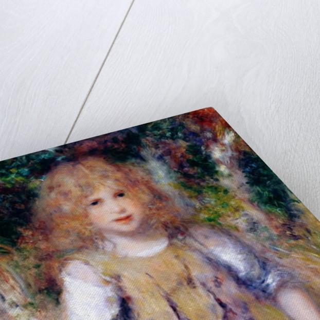 Gypsy Girl by Pierre Auguste Renoir