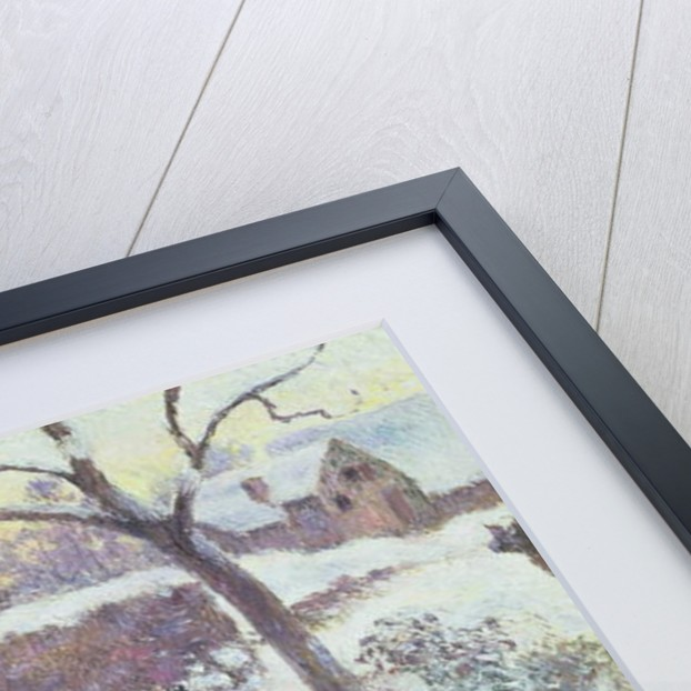 Effet de Neige a Montfoucault by Camille Pissarro