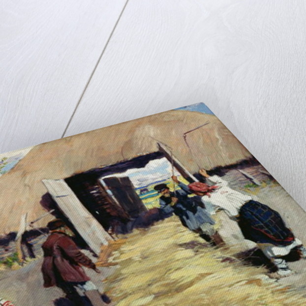 Threshing Floor by Sergei Arsenevich Vinogradov