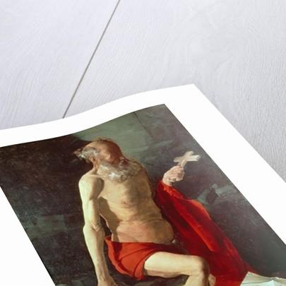 St. Jerome, c.1620 by Georges de la Tour