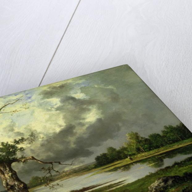 French River Landscape by Leon Richet