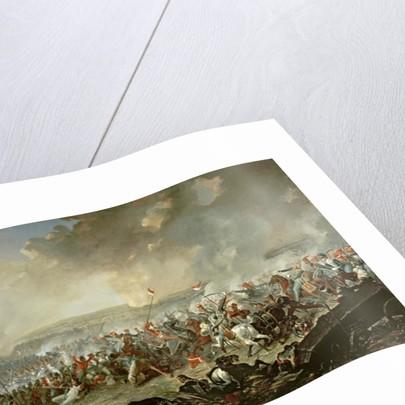 The Battle of Waterloo by Denis Dighton