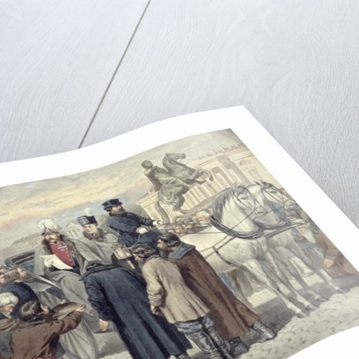 Emperor Alexander II proclaiming the Emancipation Reform of 1861 by Aleksei Danilovich Kivshenko
