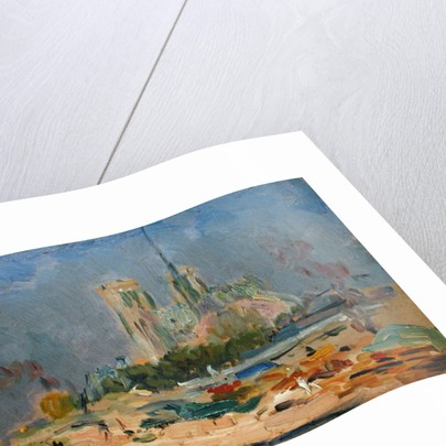 Quai de la Tournelle and Notre-Dame de Paris by Albert-Charles Lebourg