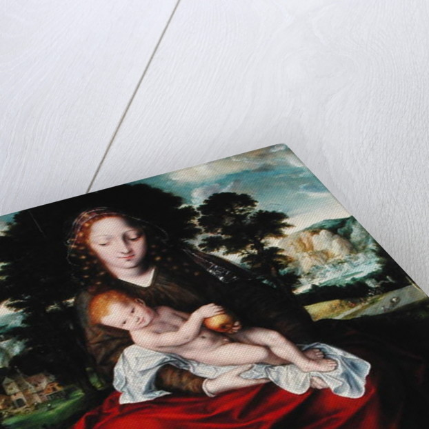 Madonna and Child by Jan Massys or Metsys