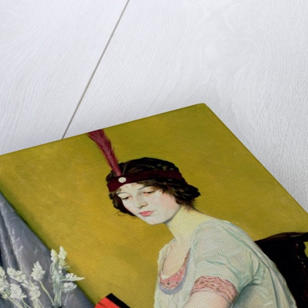 The Japanese Fan by William Strang